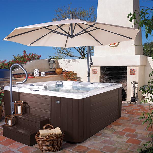 Spa Caldera caldera® spas spa side umbrella - the hot tub store