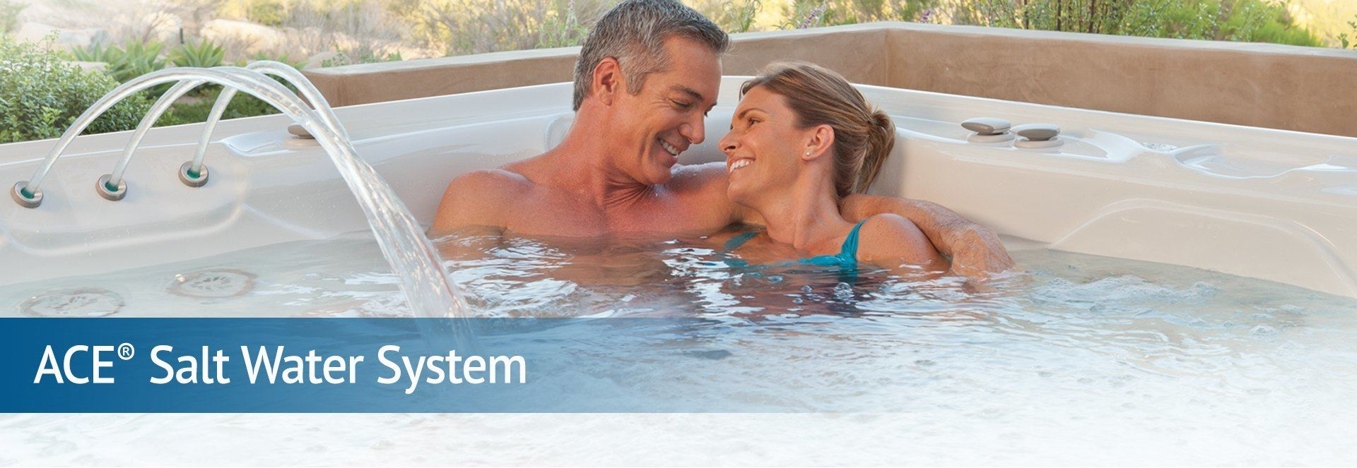 Ace Salt Water System The Hot Tub Store