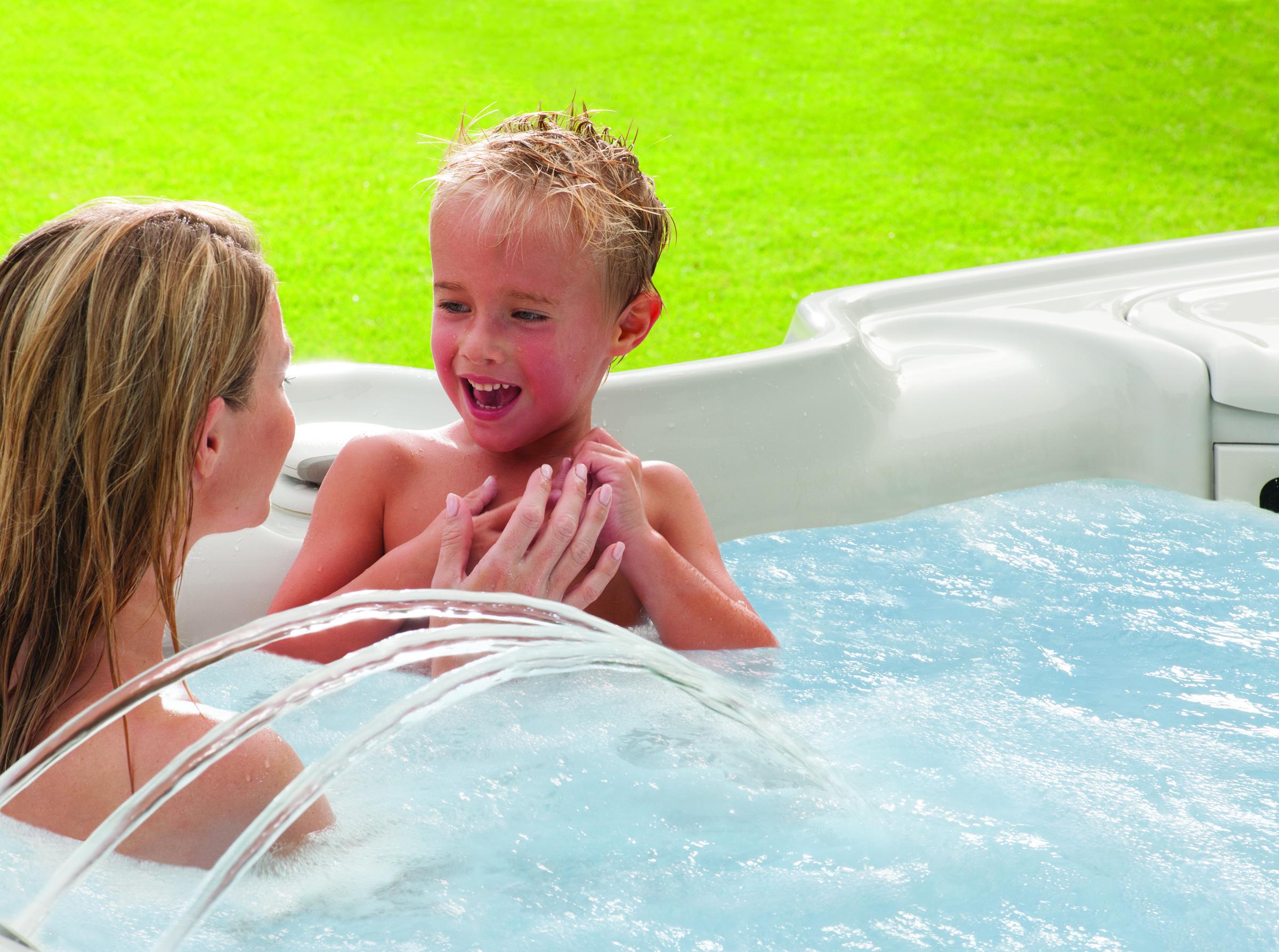 is a hot tub safe for kids the hot tub store. Black Bedroom Furniture Sets. Home Design Ideas