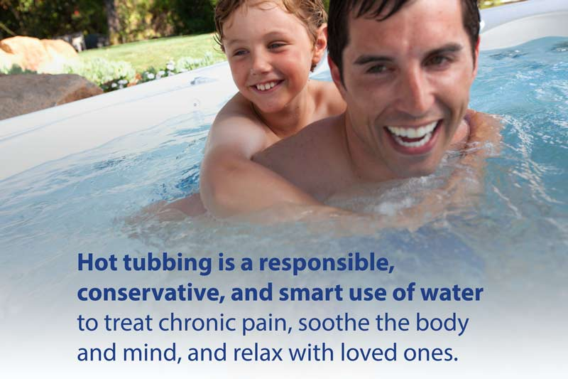Get the Facts: Hot Tubbers Are Water Wise