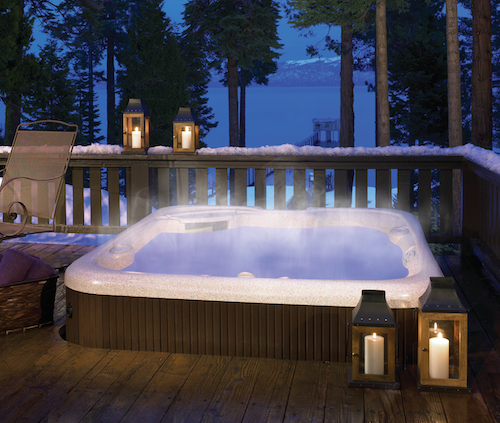 Can I Build A Deck Around My Hot Tub The