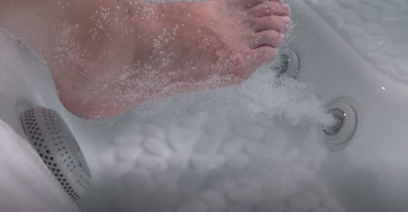 foot jets hydrotherapy