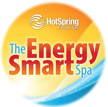 The Hot Spring Energy Smart logo indicates the most energy efficient hot tub models