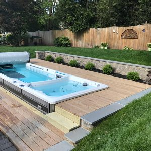 E2E Cover E 2000 Fitness Systems for Endless Pools