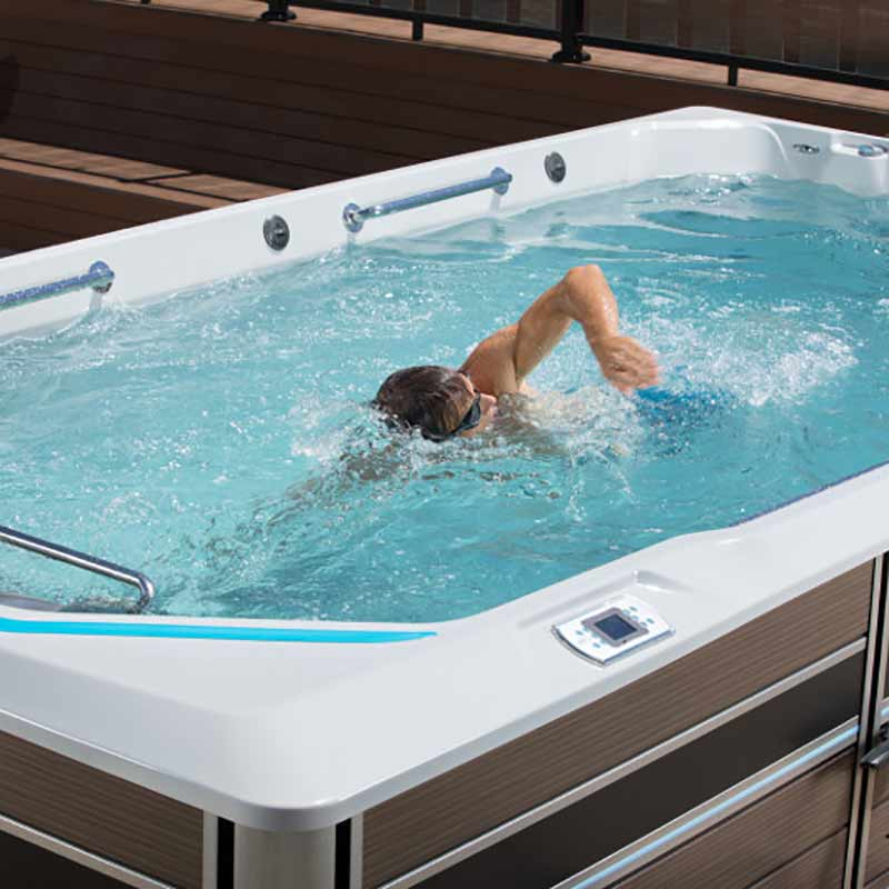 Perfect swim spa results ss sm the hot tub store - How much is an endless pool swim spa ...