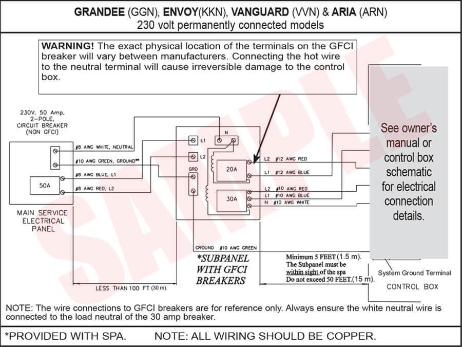 Hot Springs Jetsetter Wiring Diagram